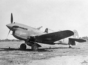 49th Operations Group - P-40E of the 7th Fighter Squadron – 49th Fighter Group – Australia – March 1942