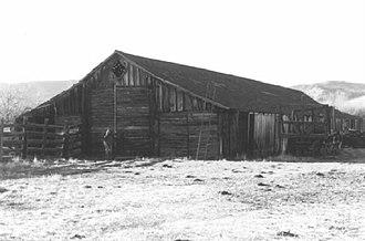 P Ranch - Image: P Ranch barn, Frenchglen, Oregon
