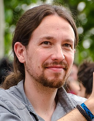 Podemos (Spanish political party) - Pablo Iglesias Turrión, leader and founder of Podemos