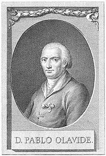 Pablo de Olavide Spanish politician