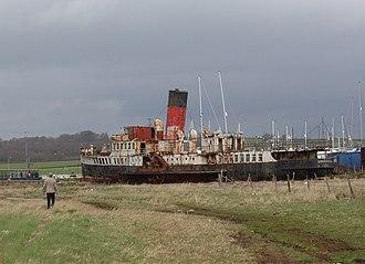 "PS Ryde - Image: Paddle steamer ""Ryde"" geograph.org.uk 156552"