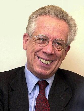 Italian Minister of Economy and Finances - Image: Padoa Schioppa, Tommaso (IMF portrait, 2008)