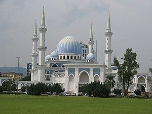 Sultan Ahmad I Mosque, Kuantan, Pahang, Malays...