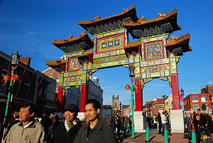 Demography of Liverpool - Chinatown, Liverpool