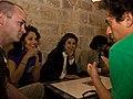 PalFest 2008- Suheir Hammad, Ahdaf Soueif & Daniel Alarcon (4143739230).jpg