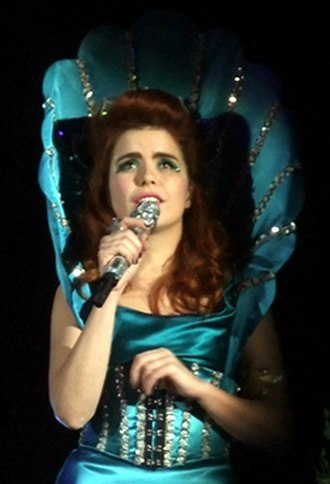 Paloma Faith - Faith performing in November 2010.