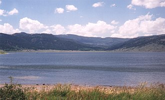 Panguitch Lake - Shore of Panguitch Lake, looking northwest