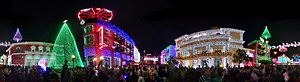 The Osborne Family Spectacle of Dancing Lights - Image: Panorama of The Osborne Family Spectacle of Dancing Lights