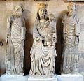 Paolo di giovanni, madonna col bambino tra i santi pietro e paolo, da porta romana, 1328-29.JPG