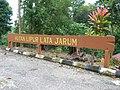 Papan tanda Hutan Lipur Lata Jarum.JPG