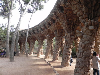 Gaudí's Parc Güell is a must see in Barcelona