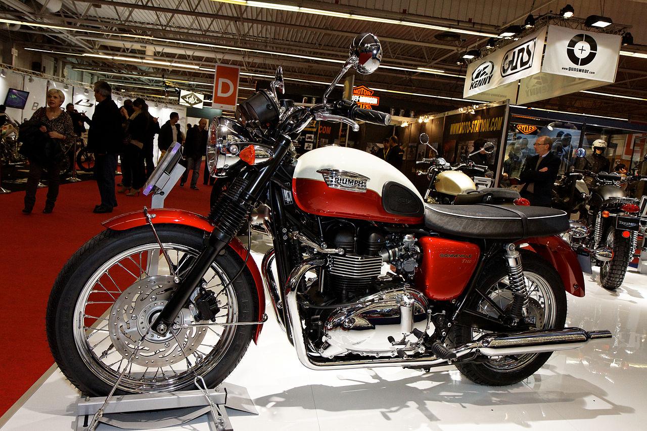 File paris salon de la moto 2011 triumph bonneville - Salon de la moto 2013 ...