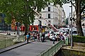Paris Canal-St-Martin Ouverture pont tournant Grange aux Belles 2014.jpg