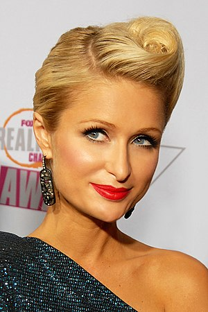 Blonde stereotype - Image: Paris Hilton 2009