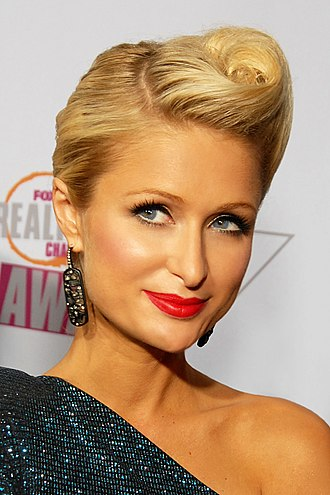 Blonde stereotype - Stereotypes of blonde women are exemplified by the public image of Paris Hilton.