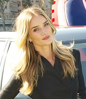 Rosie Huntington-Whiteley - In October 2014