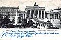 Pariser Platz und Brandeburger Tor, AK von 1904, aus Zeno.org.JPG