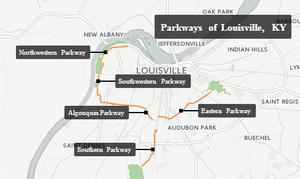 Parkways of Louisville, Kentucky - Parkways Of Louisville