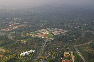 Capital Circle - Capital Circle is the inner of two circular concentric roads that orbit Parliament House.