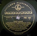 The Beatles' first Parlophone LP – produced by Martin.