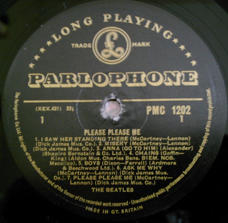 The Beatles - Page 3 800px-Parlophone_LP_PMC_1202