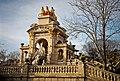 Parque Jardín de la Ciudadela, monumento en la Cascada Monumental.jpg