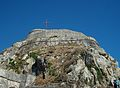 Part alta de la fortalesa vella de Corfú.JPG