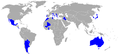 Participating countries in men's football at the 2004 Olympics.png