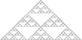 Pascal triangle modulo 3.png
