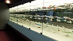 Passengers Aircraft Models Display in Glass Cabinet of Aviation Museum 20130928.jpg