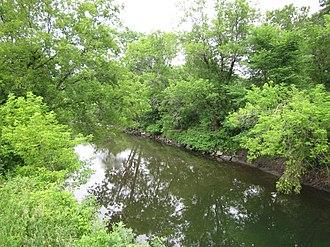Passumpsic River - Image: Passumpsic River near Lyndonville, Vermont
