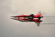 Patrouille Suisse - RIAT 2014 (14796126796).jpg