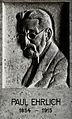Paul Ehrlich. Photograph after a plaque in the Deutsches-Hyg Wellcome V0028696.jpg