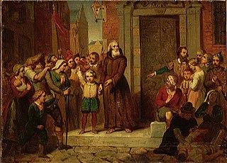 Anno 1480. Pater Brugman maant de Friezen tot vredelievendheid