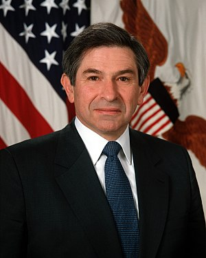 Under Secretary of Defense for Policy - Image: Paul Wolfowitz