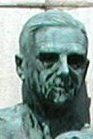 John R. Paul - Paul's bronze bust at Warm Springs