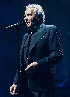 Michel Sardou - Michel Sardou at the Palais des Sports in 2005.