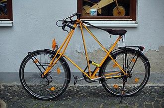 Pedersen bicycle - Image: Pedersen Rad
