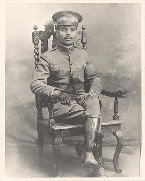 Pedro Albizu Campos - Lieutenant Pedro Albizu Campos (U.S. Army)