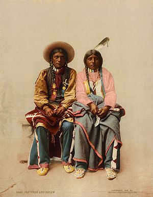 Pee Viggi and squaw, Utes, ca. 1899.jpg