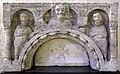 Pelegrinus, cristo tra i ss. pietro e paolo, 1120-30 ca, dal duomo di verona.jpg