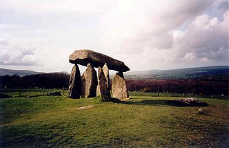 Pembrokeshire - Pentre Ifan neolithic burial chamber