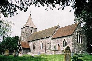 Pentridge - Image: Pentridge, parish church of St. Rumbold geograph.org.uk 521772