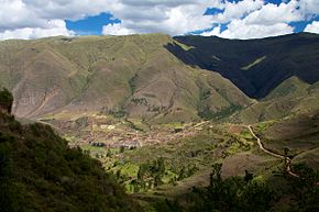 Peru - Cusco Sacred Valley & Incan Ruins 116 - looking down from Tipón (6954856292).jpg