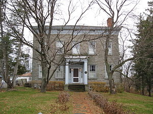 National Register of Historic Places listings in Oswego County, New York - Image: Peter Chandler House Nov 09