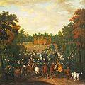 Peter Jakob Horemans Parforcejagd am Gelben Haus Amalienburg.jpg