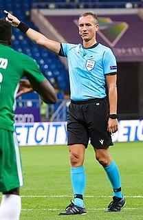 Petr Ardeleánu Czech football referee