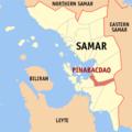 Ph locator samar pinabacdao.png