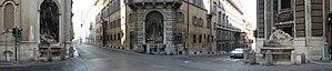 Quattro Fontane - The Quattro Fontane, Rome