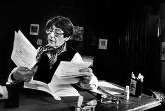 Pierrette Micheloud - Pierette Micheloud in 1984